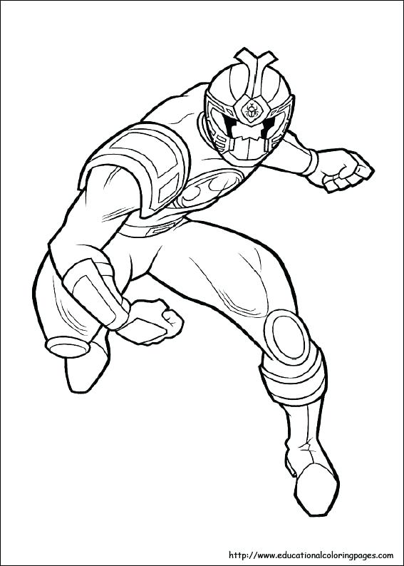 567x794 Power Rangers Samurai Coloring Pages Online On Best Coloring
