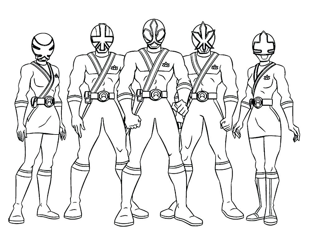 1001x768 Power Rangers Samurai Coloring Pages Power Rangers Coloring Pages