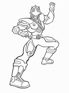 236x316 Power Rangers Samurai Red Samurai Ranger Coloring Page Printable