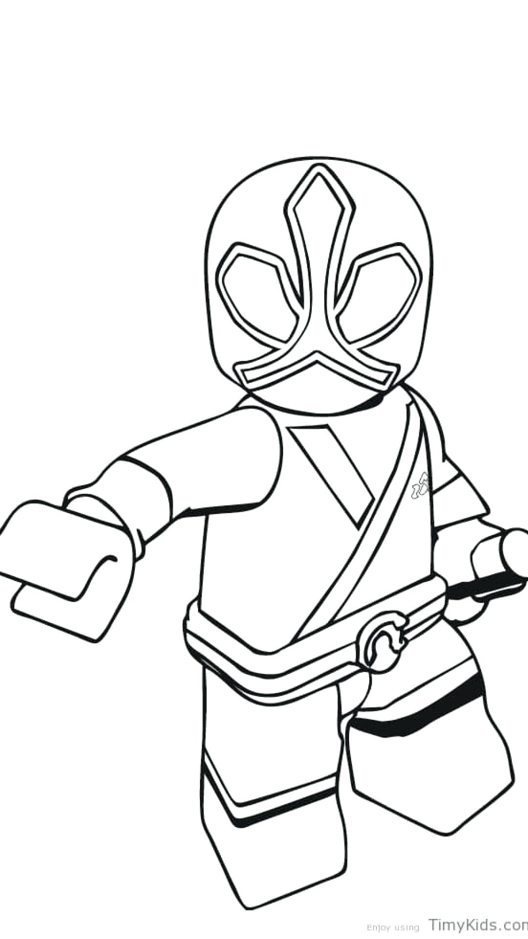 1080x1920 Coloring Power Ranger Printable Coloring Pages