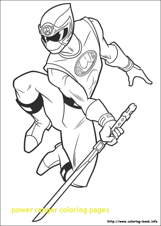 567x794 Power Ranger Coloring Pages With Rangers Samurai Colori On Cute