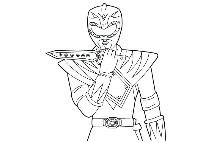 720x480 Power Ranger Coloring Page Power Rangers Coloring Pages News