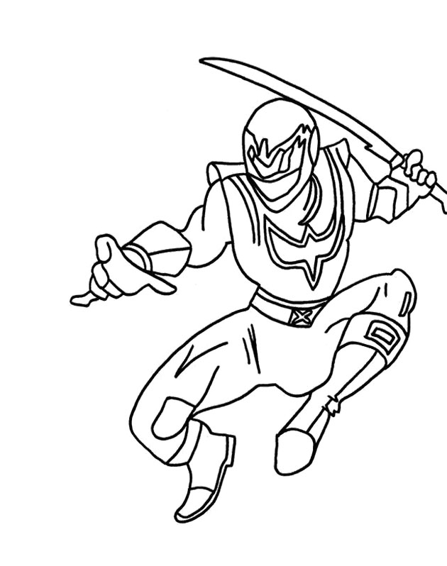 630x798 All Power Rangers Coloring Pages Spd