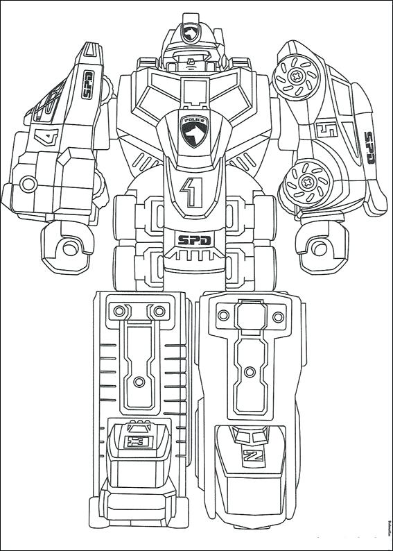 567x794 Power Rangers Spd Coloring Pages Power Rangers Coloring Pages