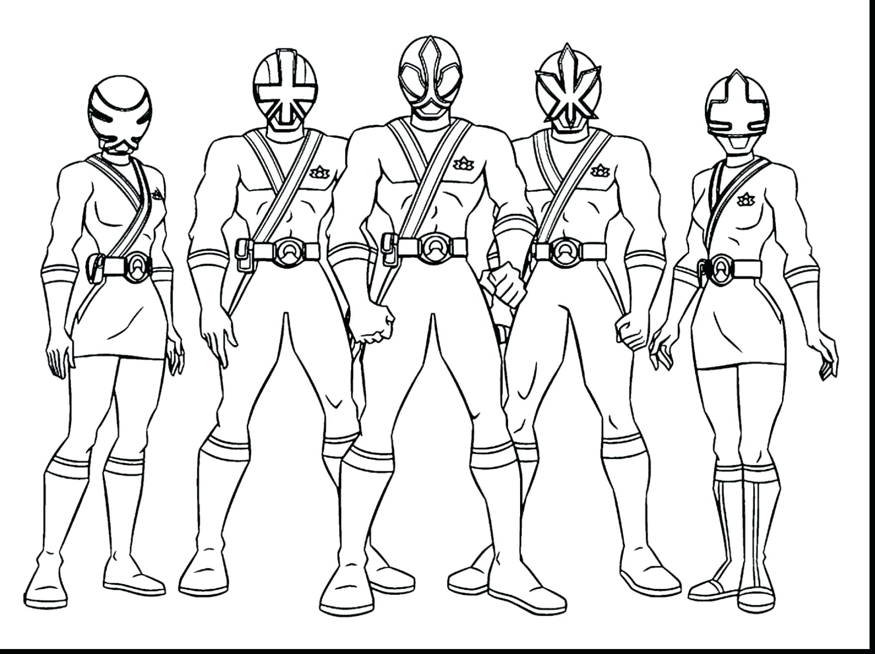 1760x1315 Coloring Power Rangers Spd Coloring Pages