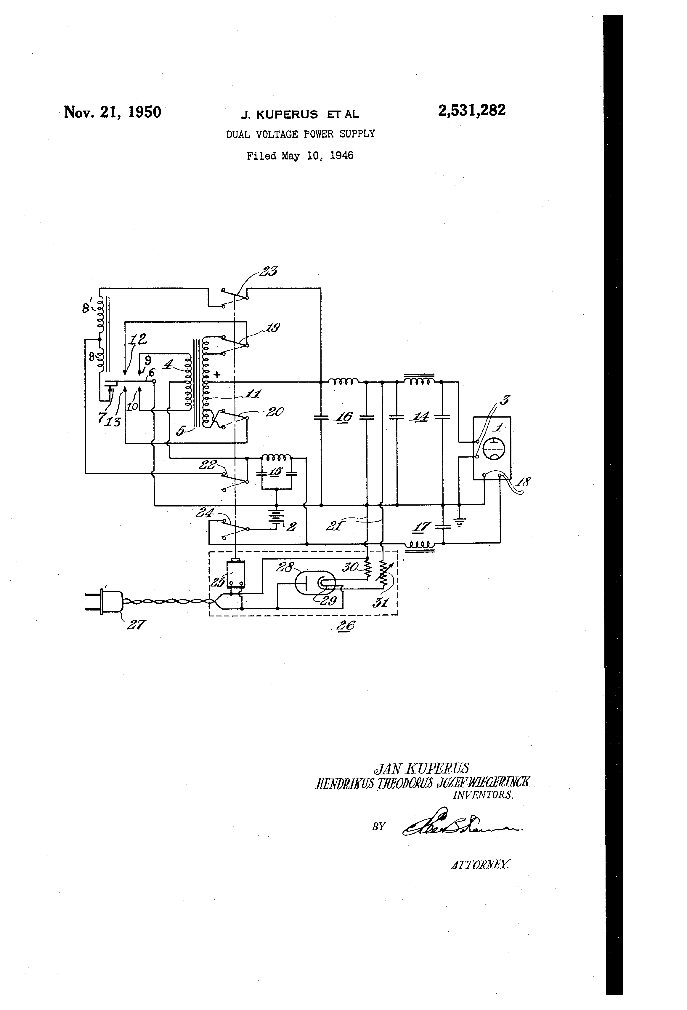 Power Supply Drawing At Free For Personal Use Volt Schematic 2320x3408 Supplies Variable Page Adjustable Wiring