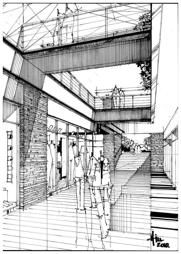 600x842 213 Best Architectural Sketches Images On Architecture