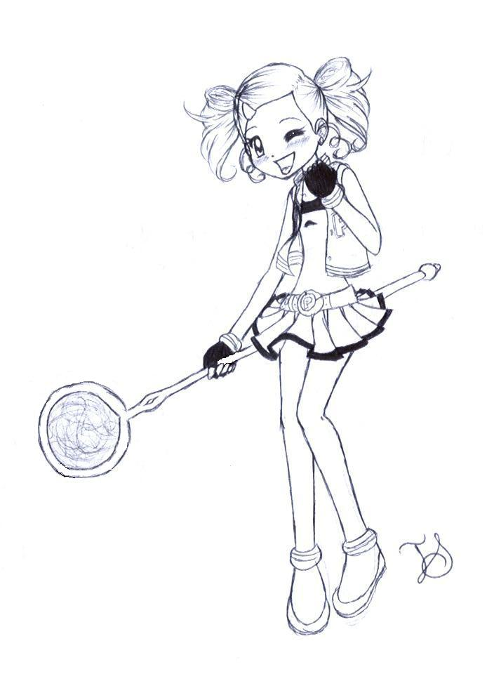 704x960 Powerpuff Girls Z Coloring Pages