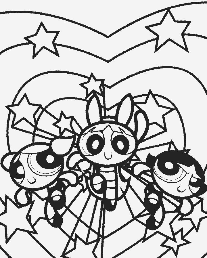 720x897 Powerpuff Girls Coloring Pages Coloring Pages For Kids