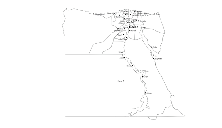 728x422 Egypt Powerpoint Map Ppt