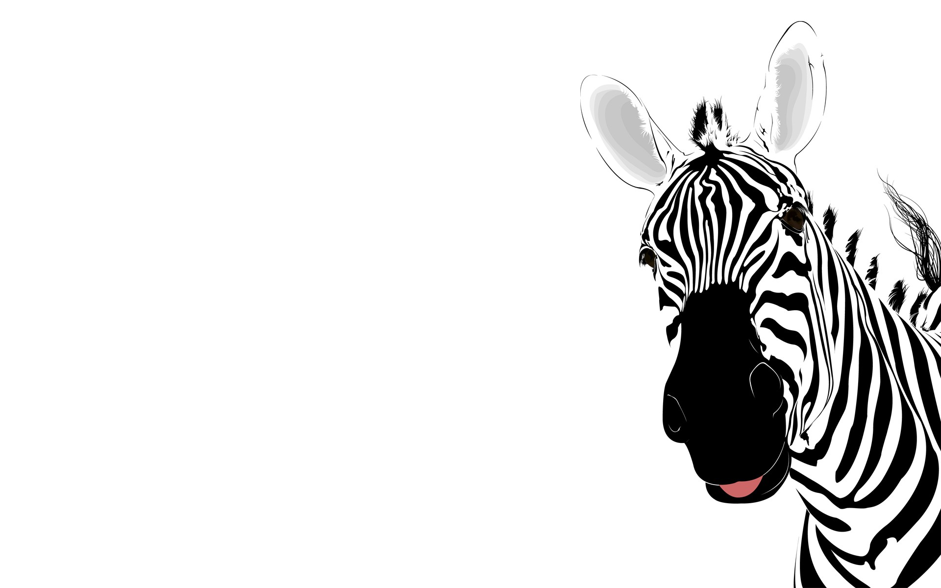 1920x1200 Free Zebra Animal Template Backgrounds For Powerpoint