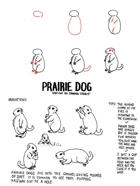484x640 Life Imitates Doodles Prairie Dog Fantasy Landscape Step Out