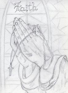 221x300 Praying Hands Drawings
