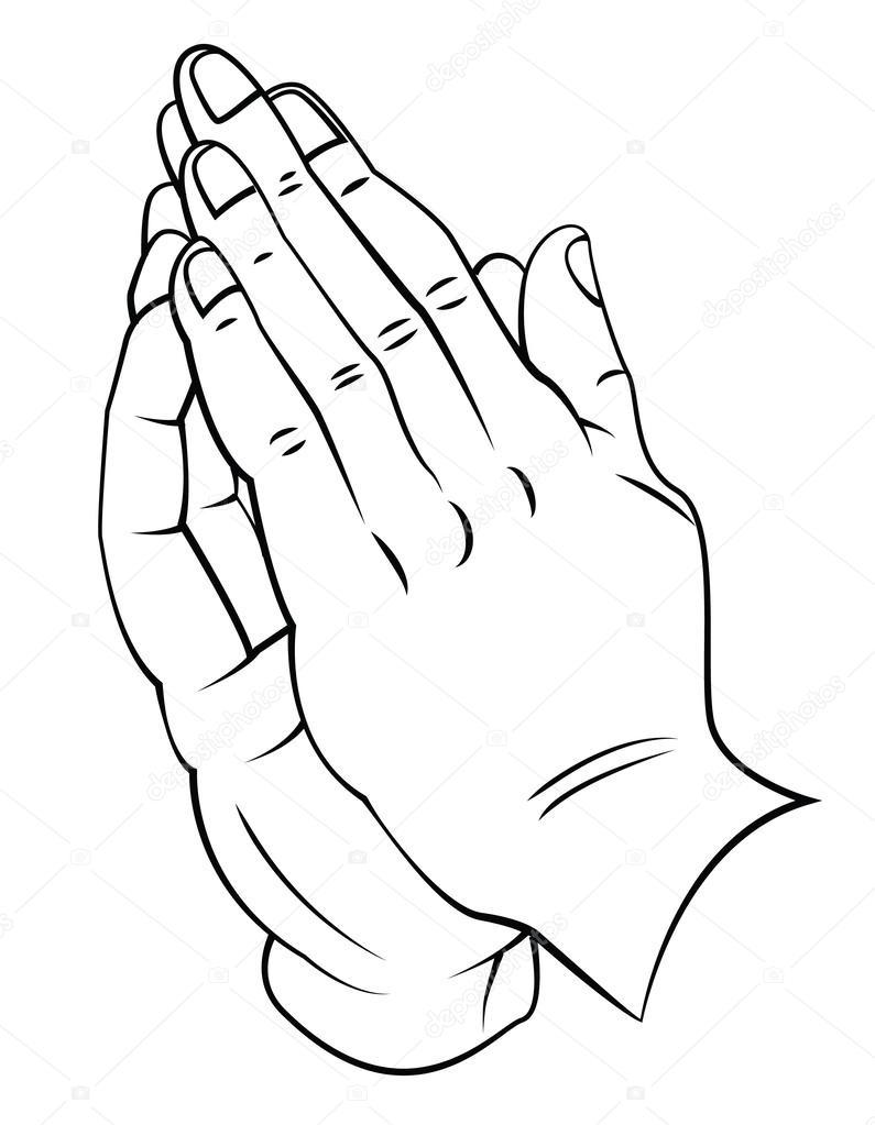 795x1023 Praying Hands Stock Vectors, Royalty Free Praying Hands