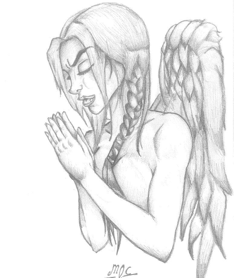 774x919 Praying Angel Full By Smartstack