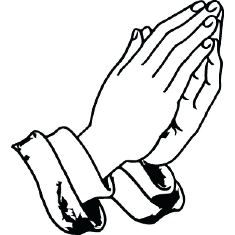 800x800 Praying Hands Coloring Pages Angel With Praying Hands C Page Pages