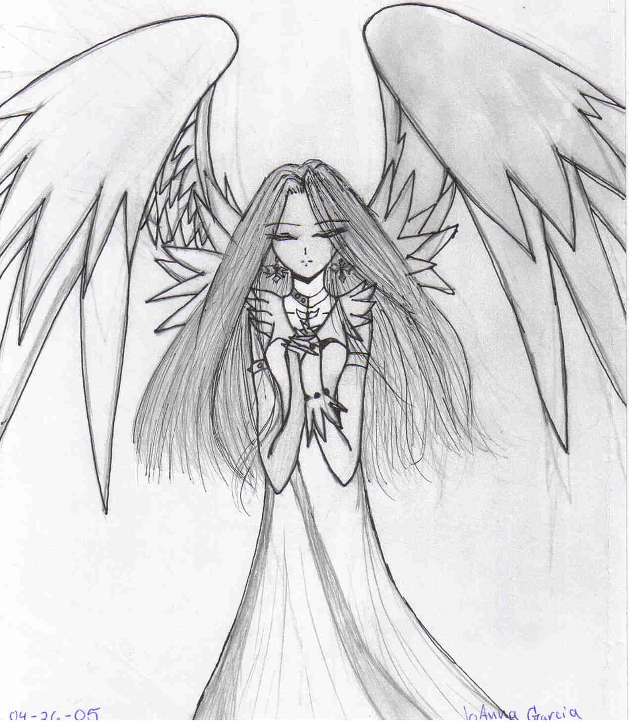 1271x1459 Angel Praying By Dragonjg On Aph Angel