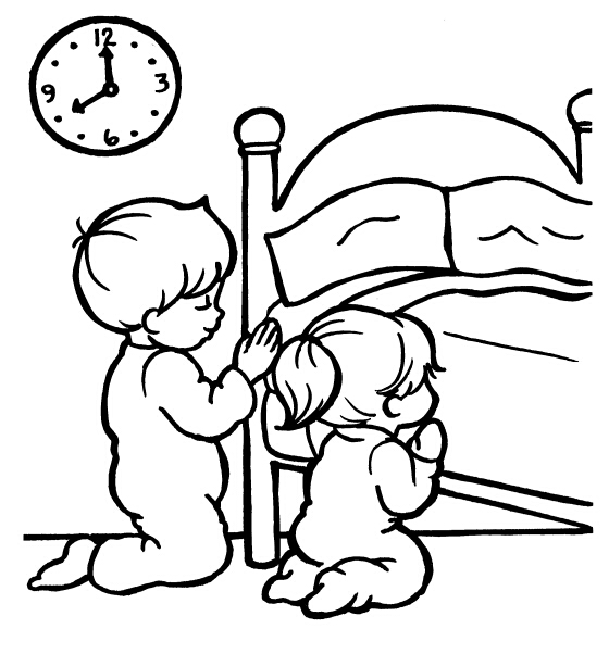 560x602 Praying Coloring Pages Preschool Top Kids Corner Coloring Pages