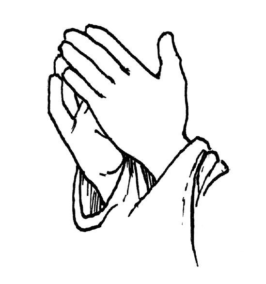 549x586 Praying Hands Photos Of Praying Template Prayer Hands Clip Clipart