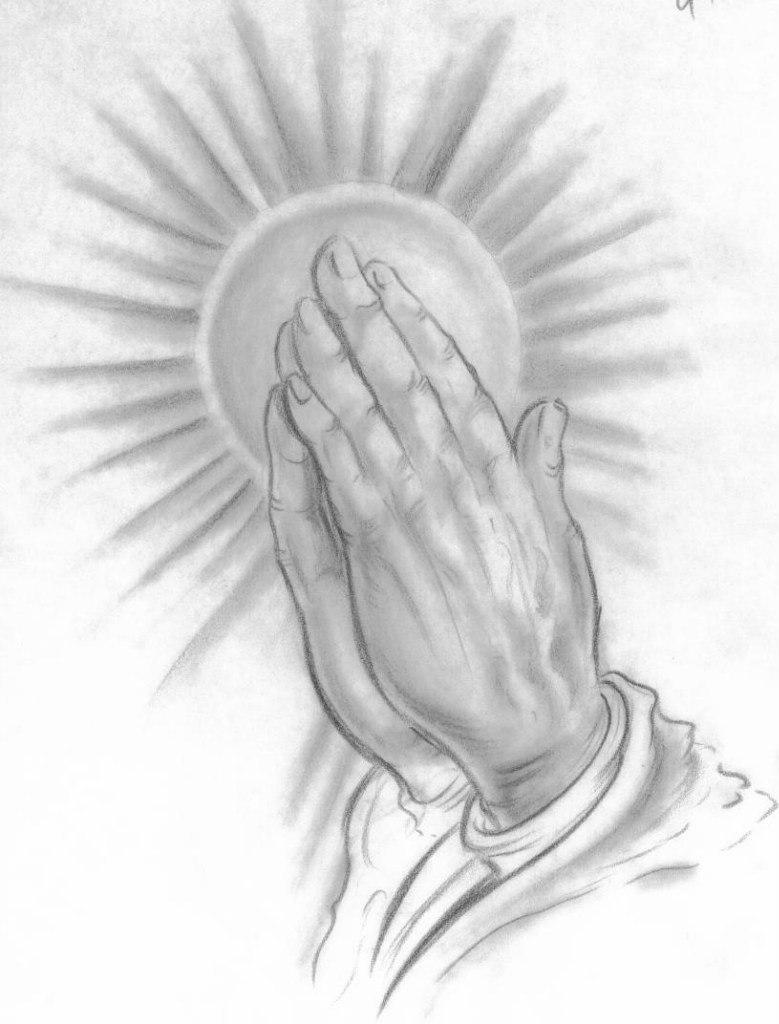 779x1024 Sketch Of Praying Hands Best Tattoo Designs