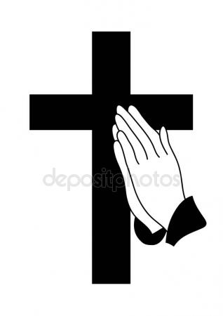 318x450 Drawing Of Praying Hands Stock Vector Prawny
