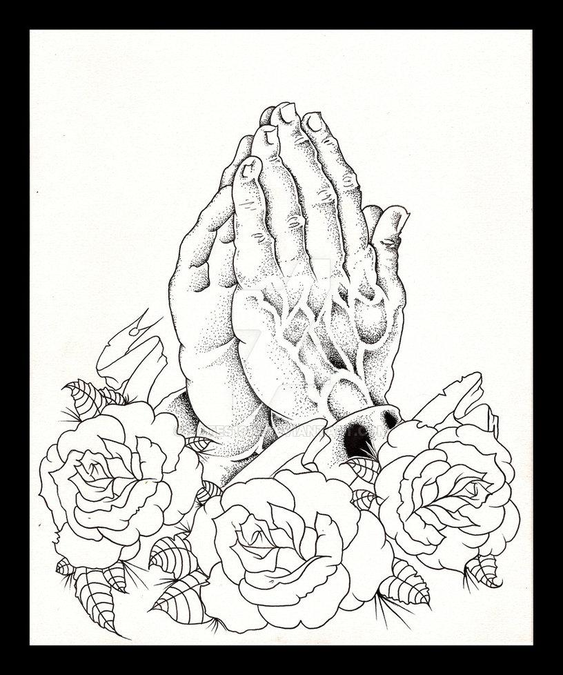 816x978 Praying Hands