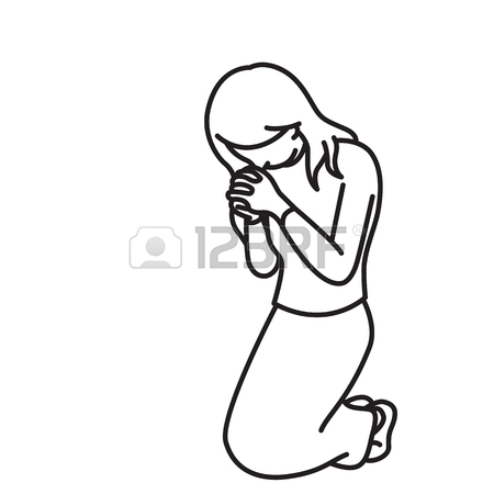 450x450 Praying Hands Outline Images Amp Stock Pictures. Royalty Free