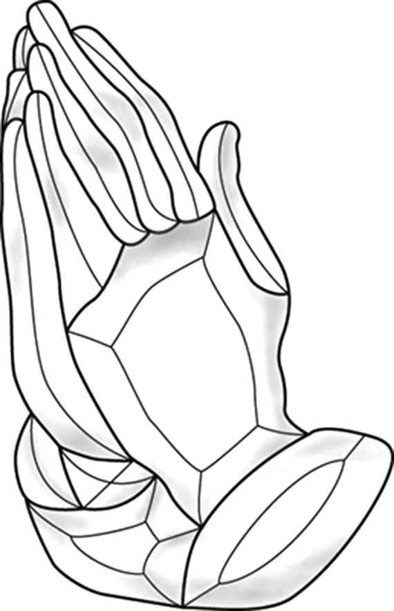 570x884 Praying Hands Coloring Page Coloring Pages Of Praying Hands