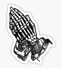 210x230 Praying Hands Digital Art Stickers Redbubble