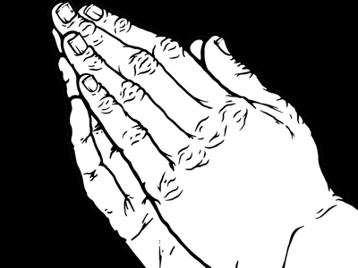 400x300 Praying Hands By Seansberg