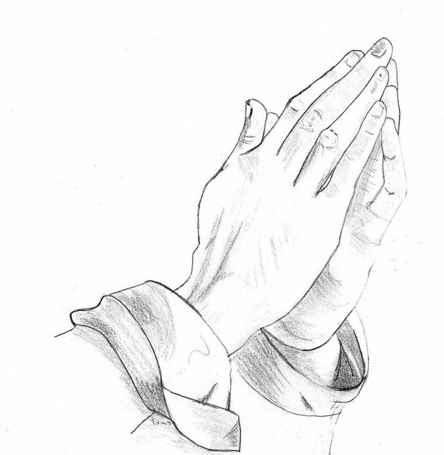 883x904 Top 10 Praying Hands Clipart File Free