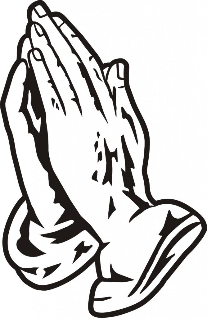 667x1024 Praying Hands Clipart 5