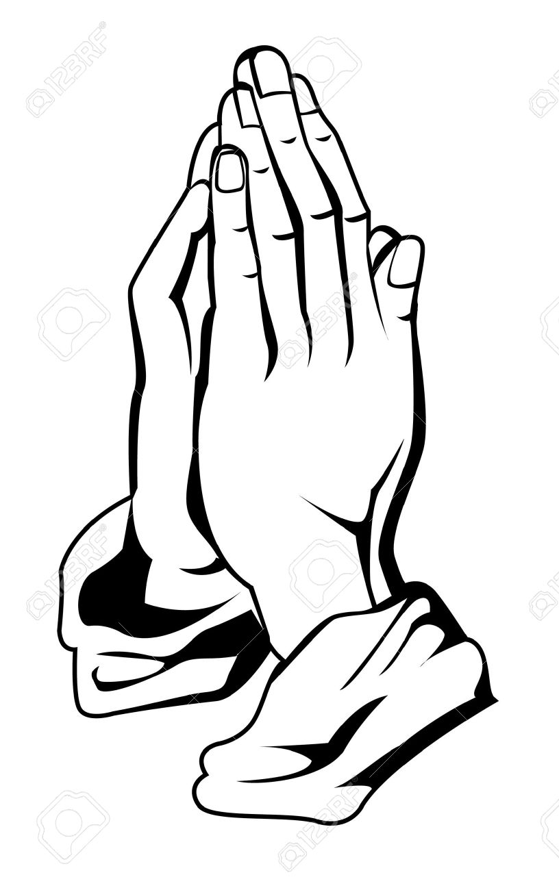 816x1300 Prayer Hand Royalty Free Cliparts, Vectors, And Stock Illustration