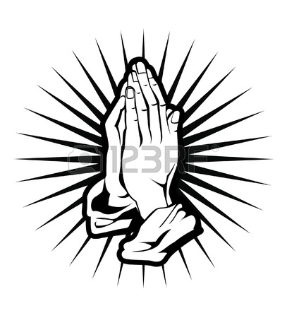 407x450 Praying Hands, Prayer On Bible, Blessing Hands Religious Hand