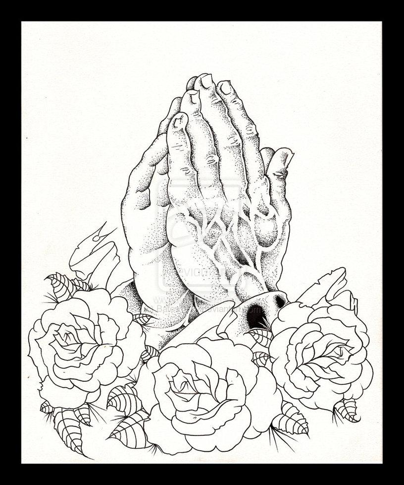816x978 Best Tatto Design Praying Hands Tattoo Designs