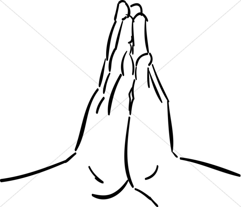 776x669 Hands Together In Prayer Prayer Clipart