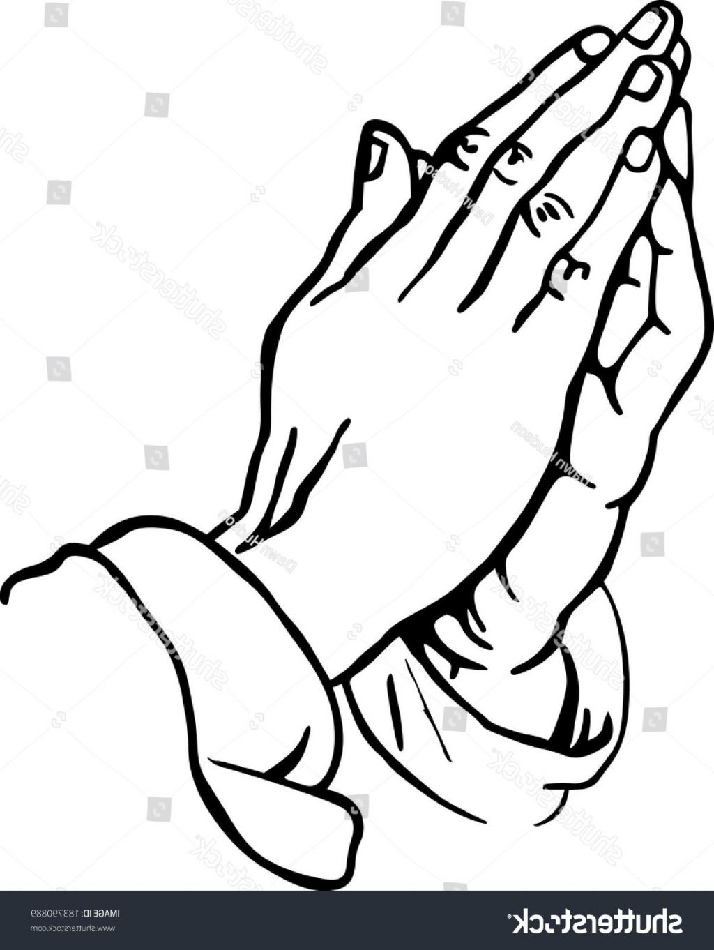 1024x1362 Unique Stock Vector Line Drawing Of Praying Hands Design