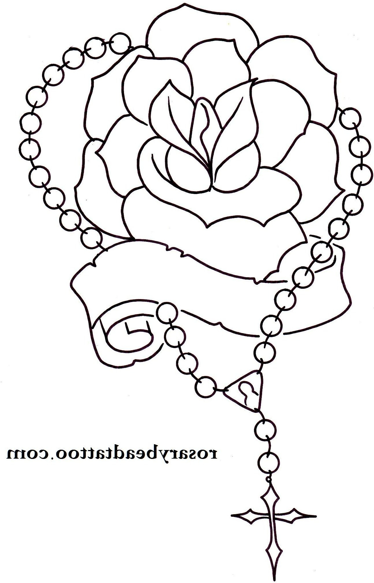 1300x2025 Rosary Beads Tattoo Designs Praying Hands With Rosary Beads Tattoo