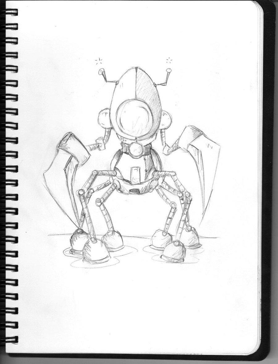 900x1180 Praying Mantis Robot By Larcyn11