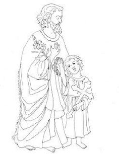 236x306 Free Saint Michael Catholic Coloring Page. Includes the prayer to
