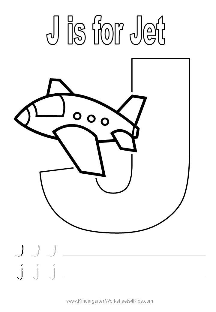 720x1040 Letter J Worksheets For Pre K Letter J Handwriting Worksheet