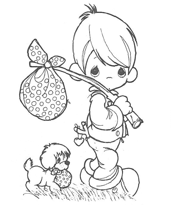569x682 Fresh Free Precious Moments Coloring Pages 45 On Ew Year Color