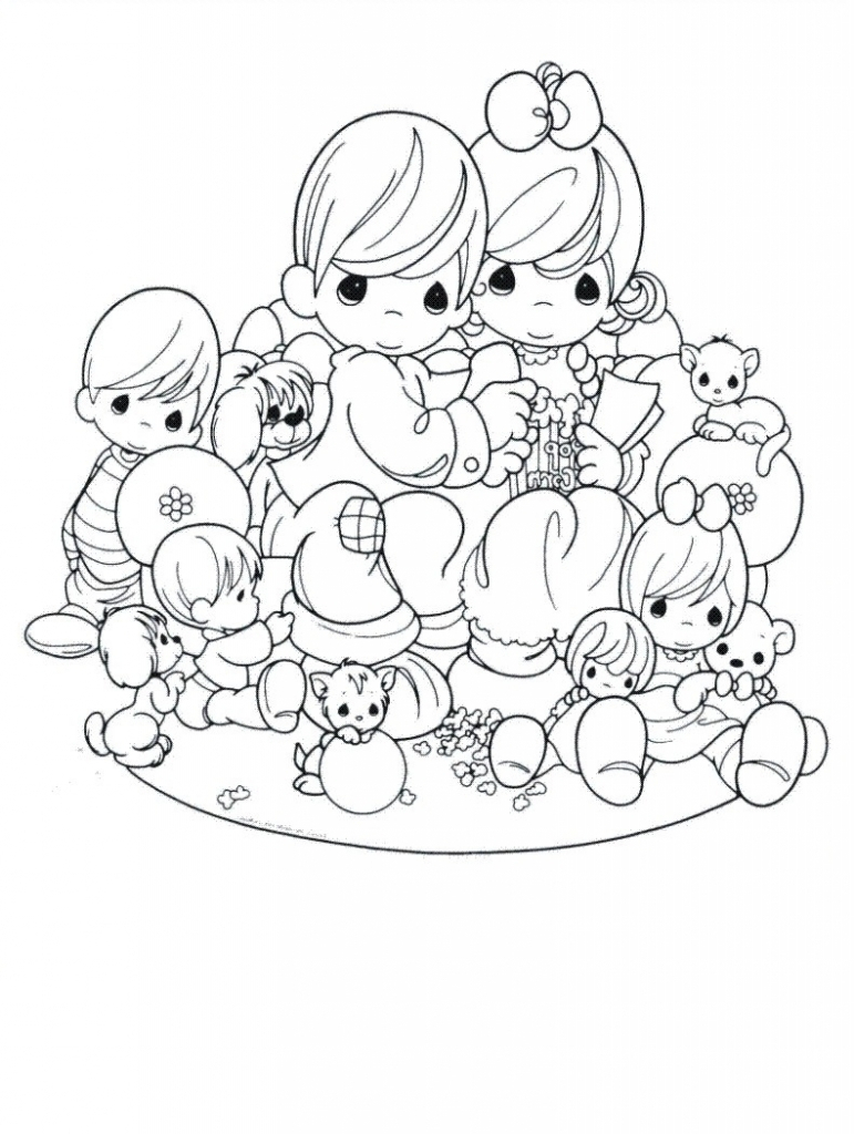 771x1024 Gangster Precious Moments Drawings