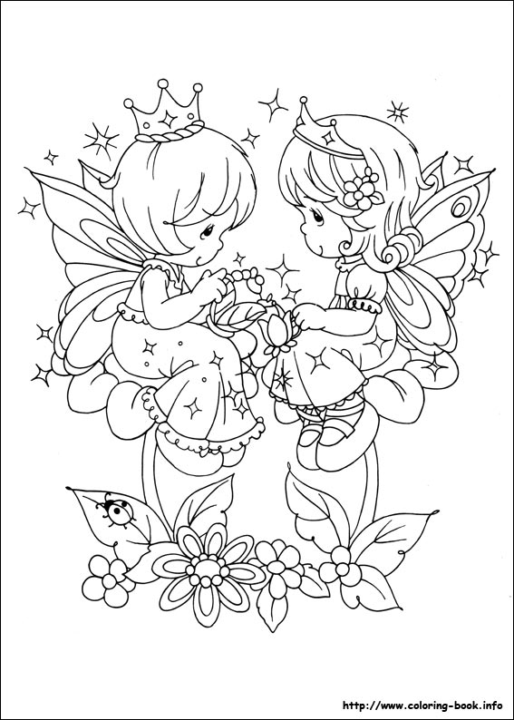 567x794 Precious Moments Spring Coloring Pages Color Bros