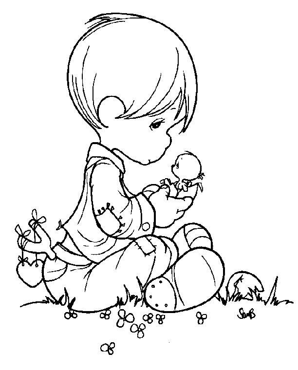 612x760 Easter Precious Moments Christmas Coloring Pages My Precious