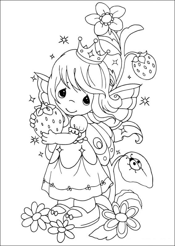 567x794 Kids N 42 Coloring Pages Of Precious Moments