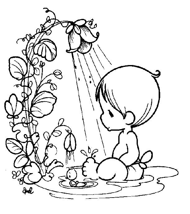 612x691 Coloring Pages Precious Moments