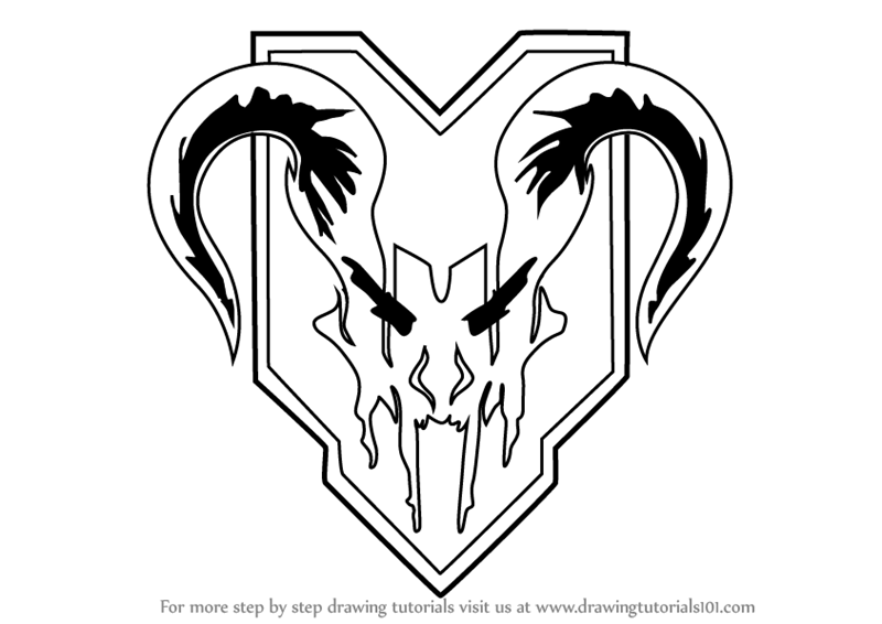 800x566 Learn How To Draw Apex Predators Logo From Titanfall 2 (Titanfall