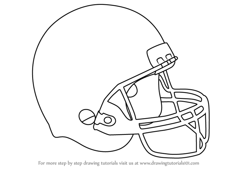 800x567 Step By Step How To Draw Baseball Helmet
