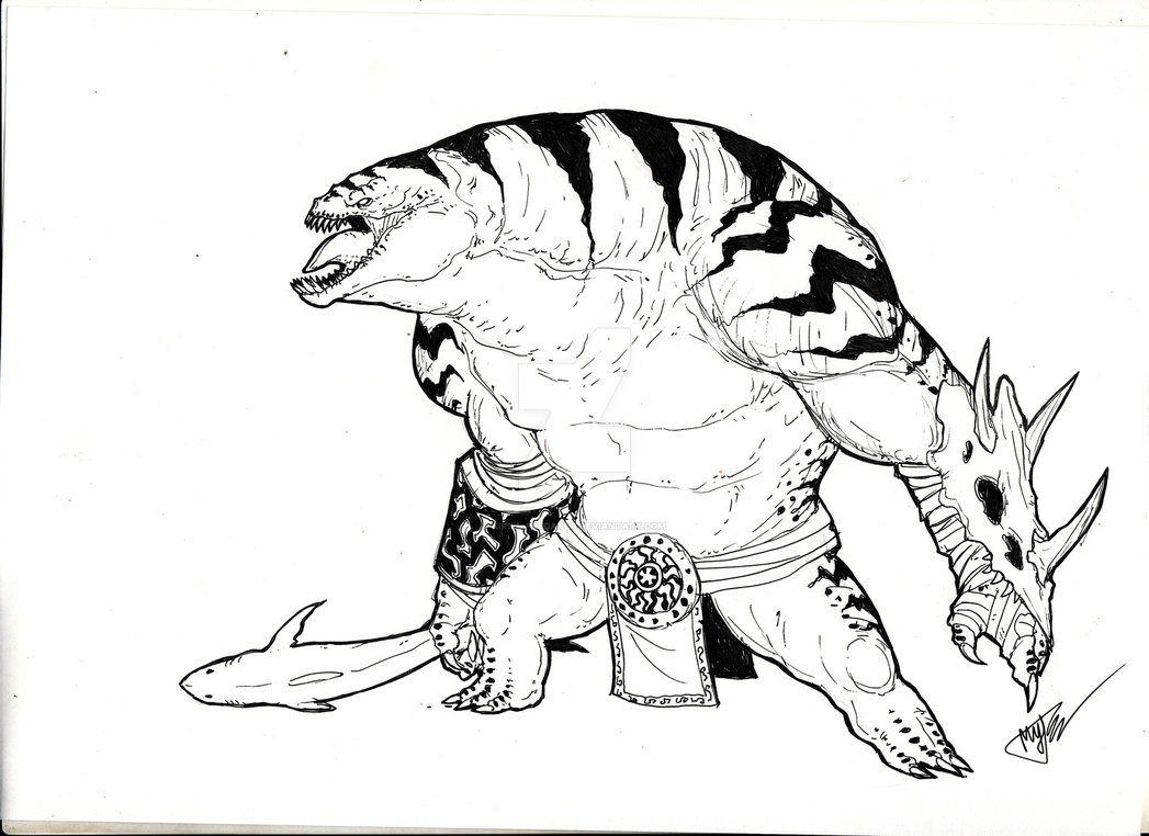 1047x762 Tidehunter By Kirill Predator